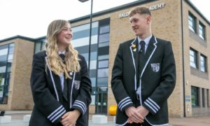 Baldragon Academy pupils hope to lead to way in a new initiative aimed at helping tackle Dundee's drugs crisis.