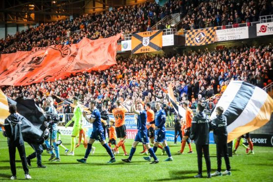 The first Dundee derby is nearing another sell out.
