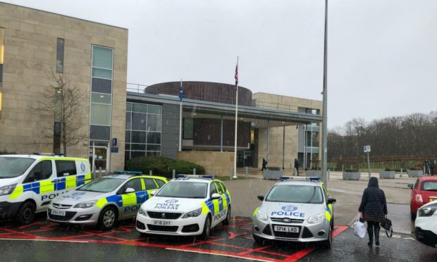 The trial is taking place at Livingston High Court