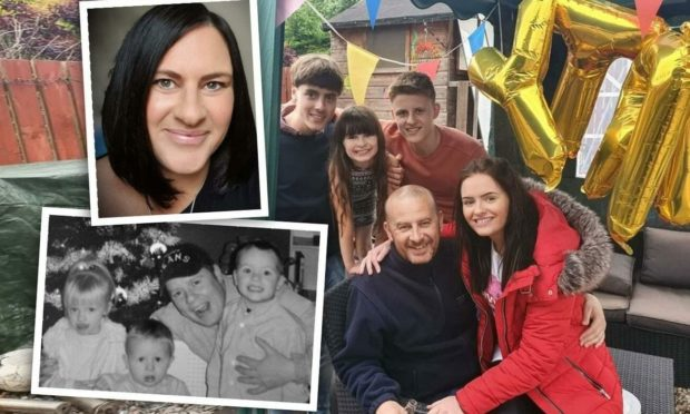 Lynsey and her family.