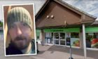 Burza targeted the Co-op in Peploe Drive, Glenrothes.