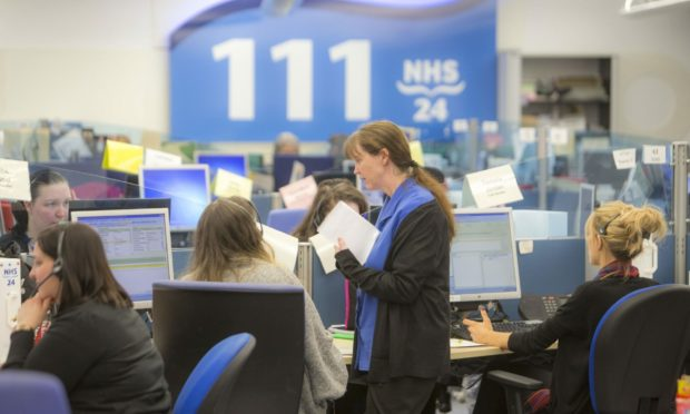 The NHS 24 contact centre in Dundee will serve all of Scotland