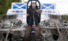 Jim Whitecross captured the British title in his 2,500 horsepower machine, Gator. Pic: Paul Smith.