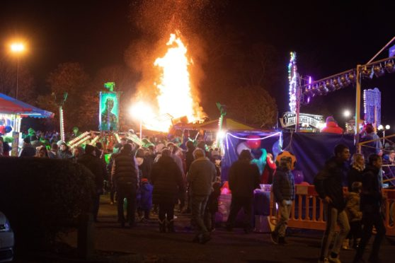 Perth bonfire