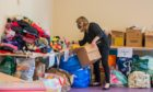 Some of the donations at PKAVS