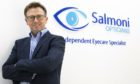 Perth's Salmoni Opticians is on the move.