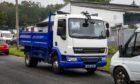 Flytipping truck fife