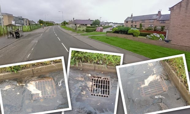 Locals in Arbroath say they've had problems with overflowing drains for years.
