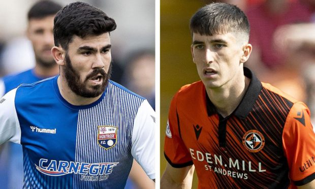 Andrew Steeves believes Chris Mochrie can become a top player at Dundee United