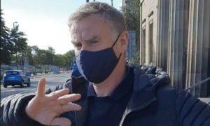 Steven Gibson leaves Perth Sheriff Court