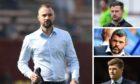 James McPake, Tam Courts, Callum Davidson and Steven Gerrard.
