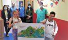 Artwork Tayside Children's Hospital