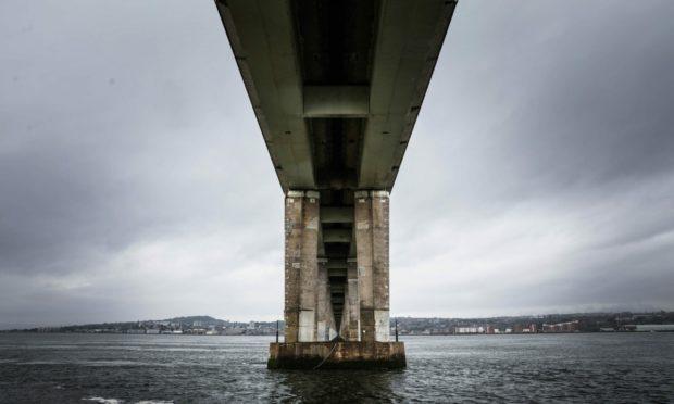 Tay Road Bridge contraflow