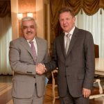 Gazprom head meets Azeris over gas exports