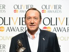 Kevin Spacey is set to appear on the big screen in Billionaire Boys Club (Ian West/PA Wire)