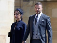 David and Victoria Beckham were all smiles while enjoying a family night out (Chris Jackson/PA)