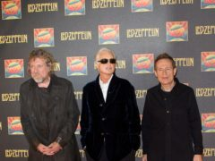 Robert Plant has joked the next time Led Zeppelin will reunite will be in a chip shop (Philip Toscano/PA)