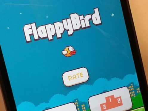Flappy Bird caused a storm in May 2013 (Martin Keene/PA)