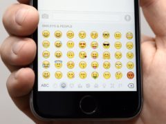 Emoji or emojis has caused some debate (Lauren Hurley/PA)