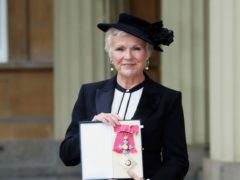 Dame Julie Walters after she made a dame by the Queen (Steve Parsons/PA)