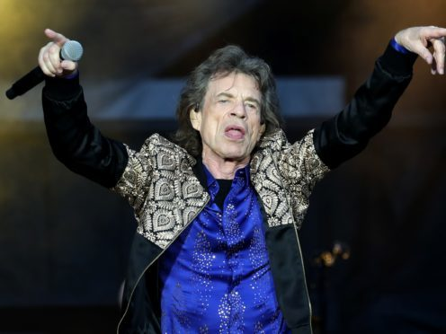 Mick Jagger of the Rolling Stones during their gig at the Murrayfield Stadium in Edinburgh, Scotland.