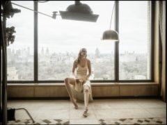 Model Gigi Hadid behind the scenes during the making of the 2019 Pirelli Calendar (Pirelli/Albert Watson/PA)