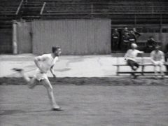 BLACK AND WHITE ONLY Undated BFI handout photo, taken from the 1924 film Running – A Sport That Creates Both Bodily and Mental Health, of Harold Abrahams.