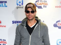 Enrique Iglesias shared a rare video of his twin children (Ian West/PA)