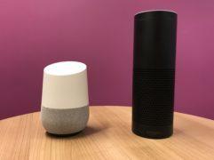 The Google Home and Amazon Echo (Martyn Landi/PA)