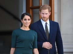 Harry and Meghan will see Hamilton at the Victoria Palace Theatre on August 29 (Joe Giddens/PA)
