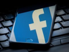 Facebook confirmed it had taken down hundreds of pages, groups and accounts (Dominic Lipinski/PA)