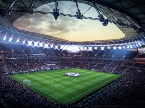 How Spurs' new stadium looks in Fifa 19 (EA Sports)