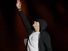 Eminem has claimed a record ninth consecutive chart-topper on the albums chart (Yui Mok/PA)