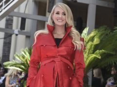 Carrie Underwood said 'belief' has been the key to her success as she was honoured with a star on the Hollywood Walk of Fame (Richard Shotwell/Invision/AP)