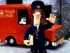 Postman Pat and his black and white cat Jess. (BBC)
