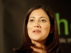 Mishal Husain's father died two years ago (Max Nash/PA)
