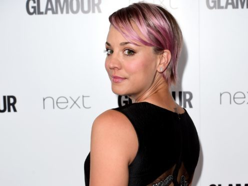Kaley Cuoco will voice Harley Quinn in an upcoming animated series (Ian West/PA Wire)