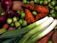 Vegetables (David Davies/PA)