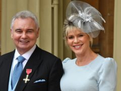 Eamonn Holmes and Ruth Langsford are presenting coverage of the wedding (John Stillwell/PA)