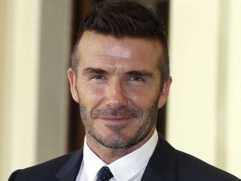 David Beckham is among the celebrities honouring the bravery of special individuals (Kirsty Wigglesworth/PA)