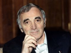 File photo dated 26/11/96 of French singer and actor Charles Aznavour whose death at the age of 94 has been confirmed by the French Culture Ministry. (PA Wire/PA Images)