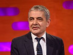 Rowan Atkinson during the filming of the Graham Norton Show at BBC Studioworks 6 Television Centre, Wood Lane, London, to be aired on BBC One on Friday evening.