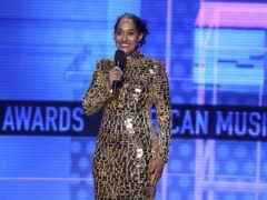 Host Tracee Ellis Ross at the American Music Awards, where XXXTentacion won a posthumous award (Matt Sayles/Invision/AP)