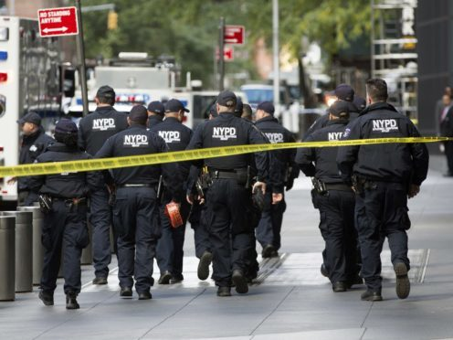 New York police are investigating another suspicious device (Kevin Hagen/AP)