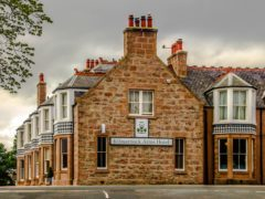 The Kilmarnock Arms Hotel in Cruden Bay, where Bram Stoker wrote the early chapters of Dracula (Mike Shepherd/PA)