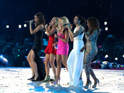 The Spice Girls are reportedly set to announce a come back on Monday and announce a UK stadium tour for 2019 – without Victoria Beckham (Andrew Milligan/PA)