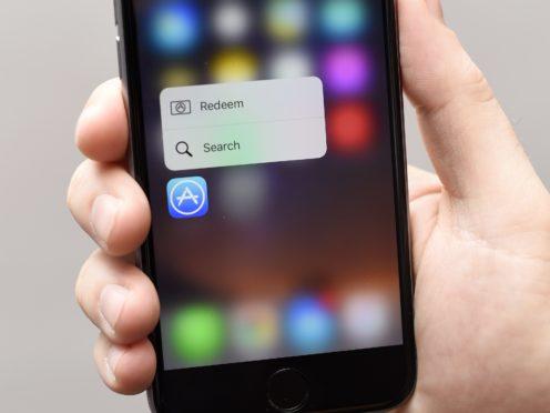 App Store goes down on iOS (Lauren Hurley/PA)