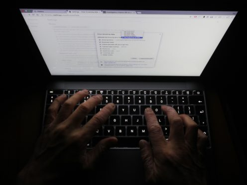 Almost a third of people in Northern Ireland have had their social media or email account hacked (PA)