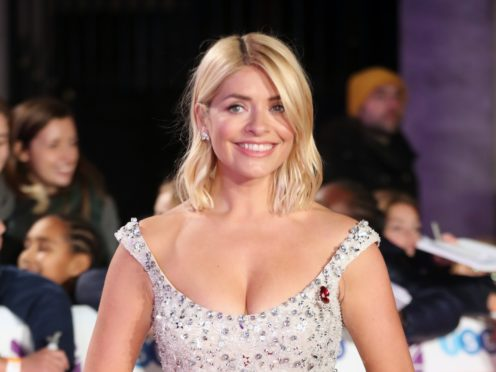 Holly Willoughby is joining Declan Donnelly in Australia for I'm A Celebrity… Get Me Out Of Here! (Steve Parsons/PA)