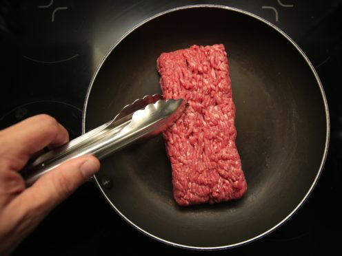 Consuming less high-protein foods, such as red meat, could improve healthy brain ageing, a new study suggests (Jonathan Brady/PA)